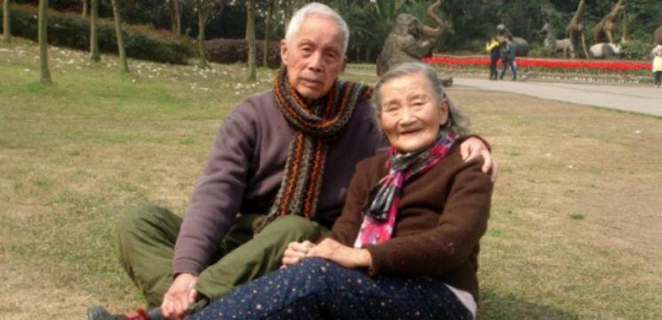Foto: Și-au refăcut pozele de la nuntă dupa 70 de ani de căsnicie
