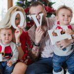 Foto: 15 idei de ședințe foto în familie pentru Crăciun!