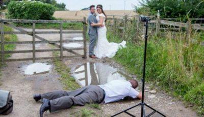 Pozele de nuntă înainte și după prelucrare!