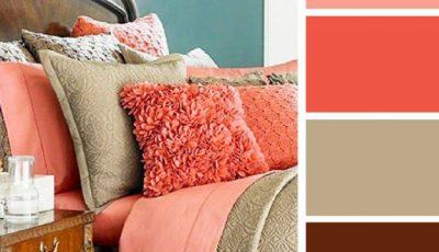 20 de idei de asortare a culorilor în dormitor!