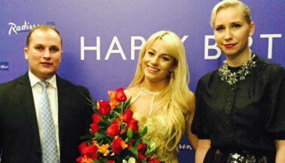 Natalia Gordienko și-a sărbătorit ziua de naștere într-un local de fițe!