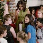 Foto: Michelle Obama a decorat Casa Albă. Imagini de poveste!