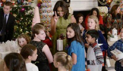 Michelle Obama a decorat Casa Albă. Imagini de poveste!