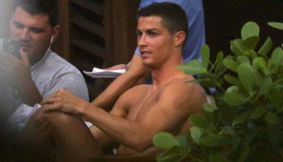 Cristiano Ronaldo! Paparazzi l-au fotografiat în brațele…unui bărbat!