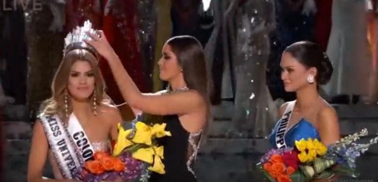 Foto: Gafă de proporții la Miss Universe 2015. S-a greşit câştigătoarea