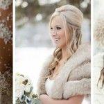 Foto: Iarna înlocuim rochia de mireasă cu…