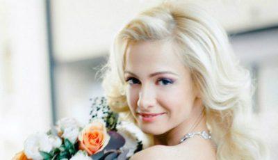 """Actrița din serialul """"Деффчонки"""", în rochie de mireasă!"""