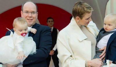 O moldoveancă face haine pentru gemenii Principelui Albert de Monaco!