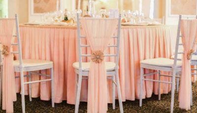 8 idei deosebite pentru decorul scaunelor de nuntă