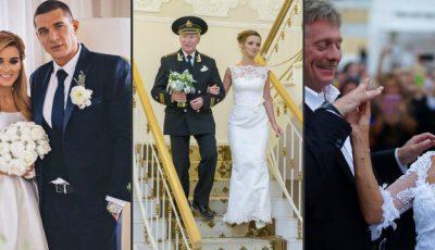 Cele mai bârfite nunți în Rusia!