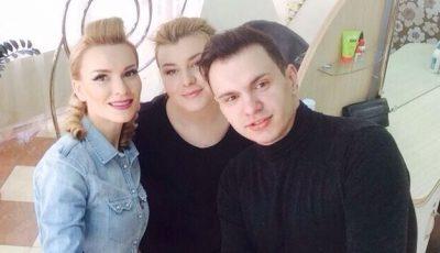 Oleg Popan experimentează cu look-ul vedetelor