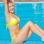 Foto: Mariana Mihăilă suferă din cauza kilogramelor în…minus