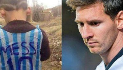 Renumitul Messi este în căutarea acestui copil!