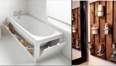 15 idei pentru o curățenie ideală în baie!