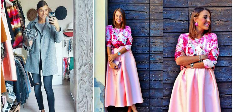 Foto: Cristina Surdu: bloggerița care nu mai cheltuieşte bani pe haine! I se aduc în dar