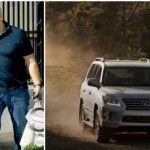 Foto: Lui Konstantin Meladze i s-a furat Lexus-ul!