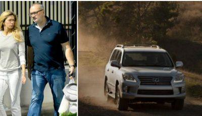Lui Konstantin Meladze i s-a furat Lexus-ul!