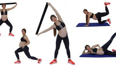 Poți avea talia fină și picioarele sculptate și în timpul sarcinii!