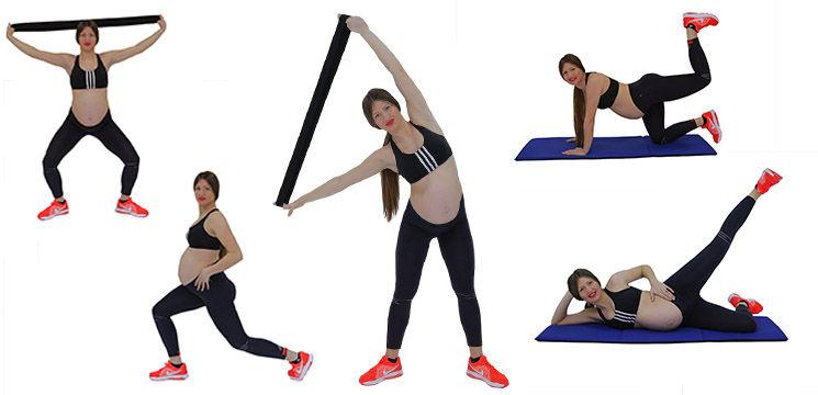 Foto: Poți avea talia fină și picioarele sculptate și în timpul sarcinii!
