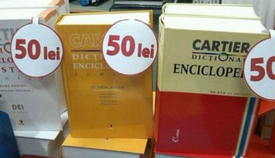Cele mai bune dicţionare pot fi cumpărate cu doar 50 de lei!