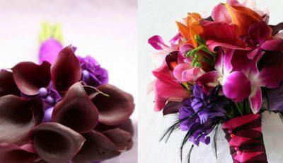 15 buchete de mireasă colorate