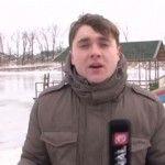 Foto: Nu ai să crezi. Ce a făcut un reporter din Moldova de Bobotează!