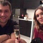 Foto: Cum a sărbătorit Olia Tira Anul Nou pe stil vechi!