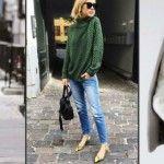 Foto: Cu ce să combini puloverul pe gât! 20 idei chic