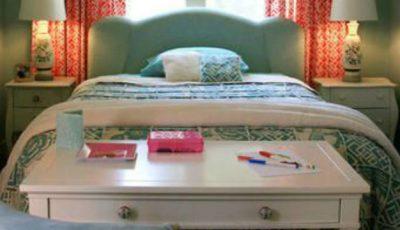 Trucuri de amenajare a unui dormitor mic!