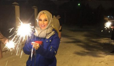 Lera Kudreavțeva s-a băbit. Ținuta ciudată în care a sărbătorit Revelionul!
