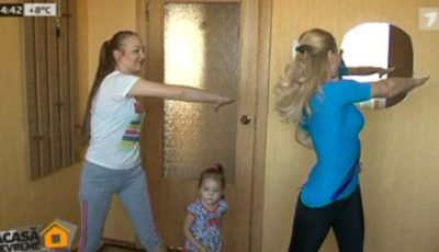Mișcare în familie. Antrenamentele Unica Sport, practicate acasă!