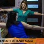 Foto: Instructorul Unica Sport, în compania Jurnal TV, te antrenează la tine acasă