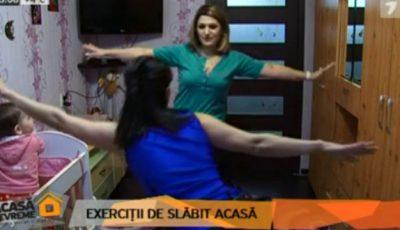 Instructorul Unica Sport, în compania Jurnal TV, te antrenează la tine acasă