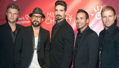 Solistul trupei Backstreet Boys a ajuns pe mâna poliției