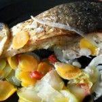 Foto: Crap la cuptor cu legume