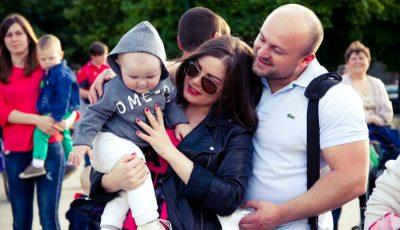 """Stilista Ylianna Danko, despre soț: """"Mă înnebunește când mă roagă să-i aranjez barba."""""""