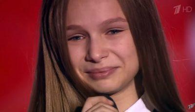 O fetiță din Chișinău a făcut furori la un show de talente din Rusia