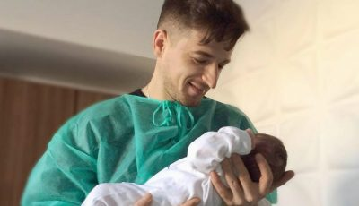 Radu Sîrbu a devenit din nou tătic! Iată cum îl cheamă pe bebeluș