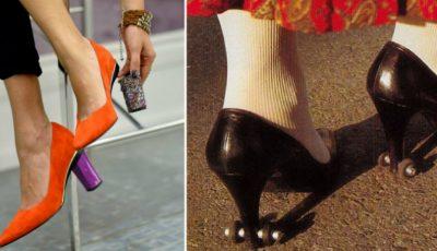 5 invenții în materie de încălțăminte!