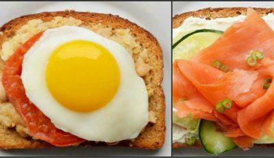 10 cele mai sănătoase sandwichuri pentru dimineți perfecte