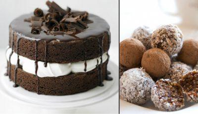 Patru deserturi fără făină și zahăr