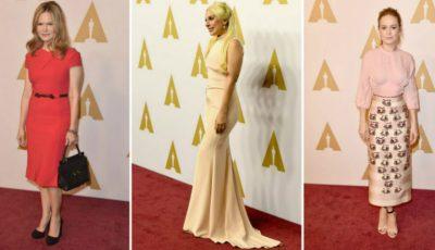Ce au purtat actrițele la prânzul nominalizațiilor Oscar!