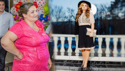 """""""Am decis să slăbesc 62 de kilograme deoarece îi făceam publicitate negativă soțului!"""""""