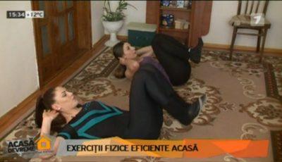 3 exerciții pentru toate grupele de mușchi!