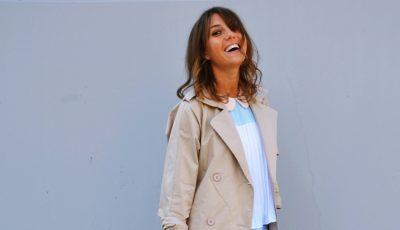 O ținută primăvăratică de la fashionista Cristina Surdu!