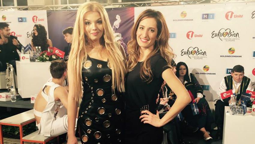 Foto: Colegii o vor pe Doinița Gherman la Eurovision 2016!
