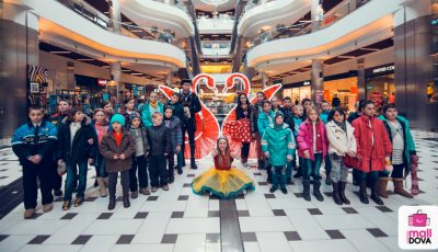 "Noi ""Zâmbete de copil la Shopping MallDova"" în 2016!"
