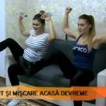 Foto: Și graviduțele pot face sport acasă. Exerciții pentru tonifierea mușchilor!
