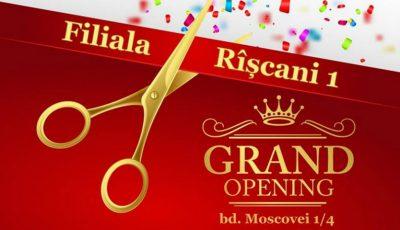 De pe 1 martie, vino la antrenamentele filialei Rîșcani!