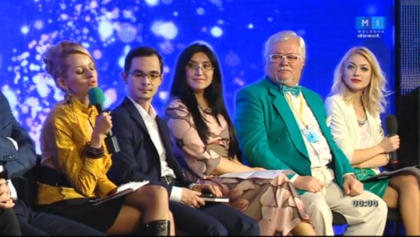 Foto: Membrii juriului, atacați de finaliștii de la Eurovision!
